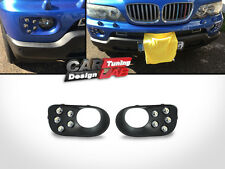 Direct-Fit Bumper LED DRL DayTime Fog Lights Frame Cover for BMW X5 E53 00-06