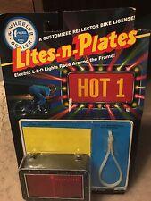 Vintage 1988 The Wheeler Dealer Lites-n-Plates L-E-D Lights for Bicycles NIB