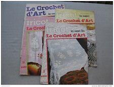 tout sur le tricot : le crochet d'art (4 livres)