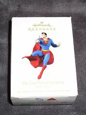 Hallmark Keepsake Ornament,  The Last Son Of Krypton, Superman