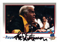 Boxer Lou Duva Hall of Fame Trainer 1991 Kayo SIGNED CARD AUTOGRAPHED Boxing HOF