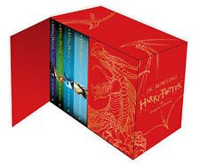 Harry Potter Hardcover Complete Series Boxed Set Collection 2014 UK Edition NEW!