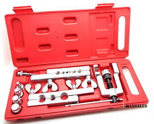 New 14-PC Flaring Tool Kit Set Water Gas Line Automotive Plumbing O.D. Tubing