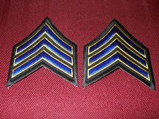California Highway Patrol Sergeant 1 Chevron Patches (2)