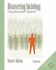 Discovering Sociology : Using MicroCase Explorit by Steven E. Barkan 2005 3rd ed