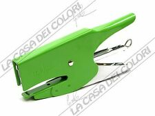 TOP QUALITY - CUCITRICE A PINZA - MONTA PUNTO 6 mm - COLORE VERDE PASTELLO