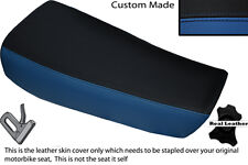 ROYAL BLUE& BLACK CUSTOM FITS HUSQVARNA CR 250 430 500 1983 ALLY TANK SEAT COVER