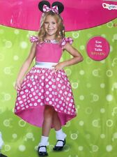 Disney Junior Minnie Mouse Child Costume SIZE S/P (4-6X) 4+ YEARS NEW Pink