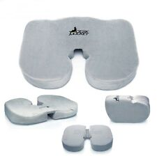 Office Car Chair Seat Cushion Back Support Pillow Memory Foam Comfort Sitting