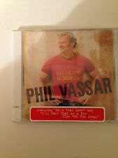 Shaken Not Stirred by Phil Vassar (CD, Sep-2004, Arista) See Pictures