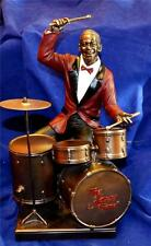 LARGE 27cm TALL JAZZ BAND DRUMMER SCULPTURE Drums Music Drum Kit