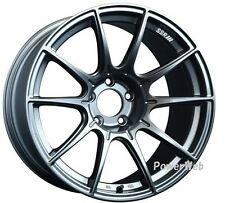 NEW SSR GT X01 18x10.5 5-114.3 +22 +15 DARK SILVER 18inch *1rim price official