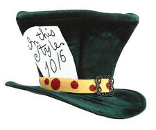 Adult Cartoon Movie Alice in Wonderland Classic Mad Hatter Tea Party Costume Hat