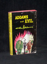 Addams and Evil by Chas Addams - cartoon book - 1965 Pocket Books paperback 1st