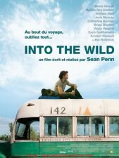 INTO THE WILD Affiche Cinéma / Movie Poster 53x40 SEAN PENN