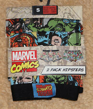 Nuevo Marvel Comics 2 Pack hipsters boxers Underwear talla xs nuevo by Primark