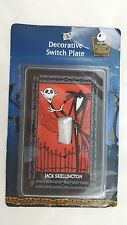 Tim Burton's The Nightmare Before Christmas Jack Skellington Switch Plate Decor