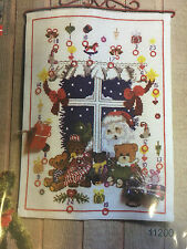 Santa at the Window Cross Stitch Advent Kit