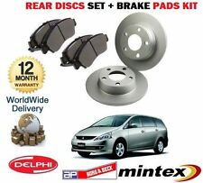 FOR MITSUBISHI GRANDIS 2.0DT DiD 2005->  REAR DISCS SET 302mm  + BRAKE PADS KIT