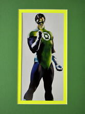 GREEN LANTERN - HAL JORDAN PRINT PROFESSIONALLY MATTED Alex Ross