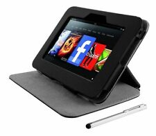 Kindle Fire HD Trust Elegant Leather Style eLiga Folio Stand with Stylus for 7""