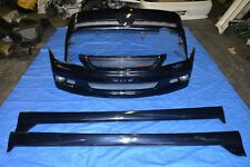 Toyota Altezza Qualitat TRD Body kit OEM JDM SXE10 IS300 Lexus Bumpers Skirts
