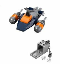 Lego 76034 Deathstroke's Jetboat Only No Instructions No Box No Minifigures