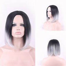 New Fashion Women Lady Long Straight Full Hair Cosplay Party Anime Lolita Wigs