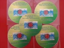 NEW! BIG BOOK OF AA 5 CDS ALCOHOLICS ANONYMOUS CD AUDIO DISC GREAT QUALITY