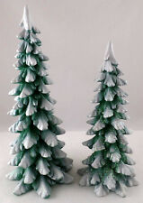 "52661 - Dept 56 ""Village Wintergreen Pines"" Set of 2"