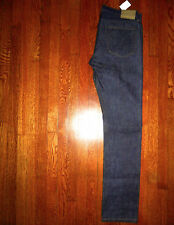 $248 WALLACE & BARNES of J Crew RAW SLIM FIT MADE IN USA SELVEDGE JEANS 34x37