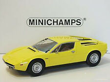 Minichamps 1974 Maserati Merak Yellow Color in 1/18 Scale New Release! In Stock!
