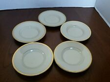 Fitz and Floyd Palais Mini Saucers Plate Dish Set Of 5 Japan