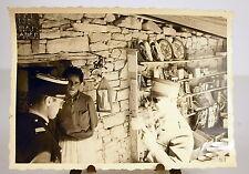 Algérie étale de commerçant village Taberdga photographie photo Khenchela c1950