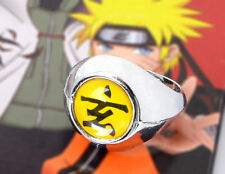 New Anime Naruto Shippuden Akatsuki Member Zetsu Xuan Yellow Cosplay Ring