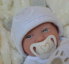 PJs Lil` Teddy BERENGUER LA NEWBORN + MANY EXTRAS BABY DOLL FOR REBORN / PLAY BN