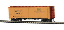 MTH 85-78037, HO Scale, 40' Steel Sided Reefer Car - Merchants Dispatch #13027