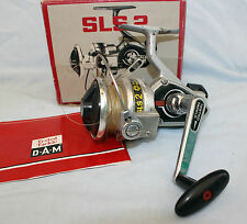 DAM Germany SLS2 spinning reel skirted spool & box & papers sae salmon pike