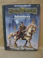 Advanced Dungeons & Dragons ~ FORGOTTEN REALMS - ADVENTURES ~ TSR Vintage Book
