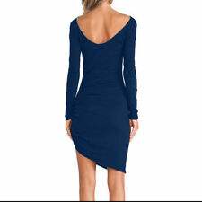 Fashion Women Bandage Bodycon Long Sleeve Evening Sexy Party Cocktail Dress 18A