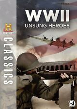 WWII Unsung Heroes [5 Discs] (2010, DVD NEUF)5 DISC SET