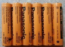 Aaa Panasonic  Rechargeable Batteries  New 6 Pack