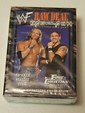 Edge and Christian WWF RAW DEAL CCG BACKLASH STARTER DECK WWE Sealed