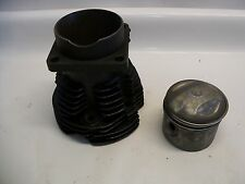 HARLEY DAVIDSON 16490-36 REAR CYLINDER HEAD W/ PISTON KNUCKLEHEAD