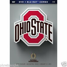 OHIO STATE - 2015 NATIONAL CHAMPIONSHIP BLU-RAY / DVD - AUTHENTIC US RELEASE