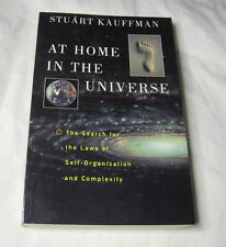 At Home in the Universe The Search for Laws of Self-Organization and Complexity