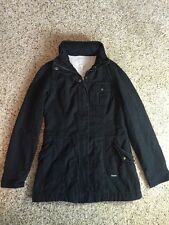 Women's Roxy BlackJacket Sherpa Fleece Quilted Lining  Full Zip Sz S/P  Kd1