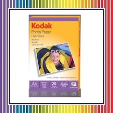 Kodak Photo paper High Gloss A4 Size 20 Sheet 180 g/m2 Fr Inkjet Printers - 3 PK