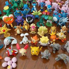 24PCS linda al por mayor de la perla de Pokemon mini figuras de juguete niños