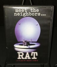 RAT (1997) DVD A Film By Mark Lewis Time Life New York City NYC Documentary RARE